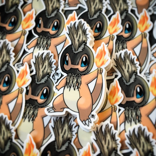 Alolan (Night Marcher) Charmander Sticker