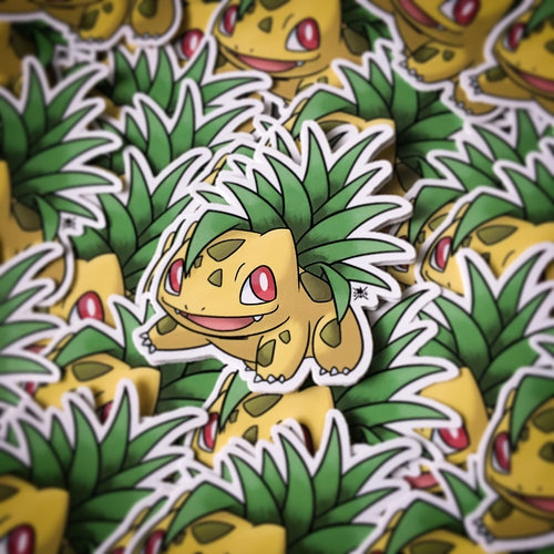 Pineapple Bulbasaur Sticker