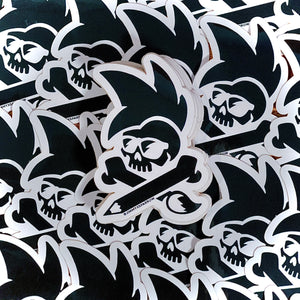 Jimmy Sparrow Crossbones Sticker (Black)
