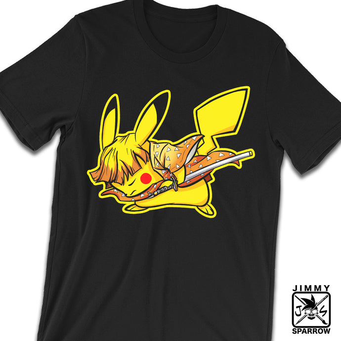 *PRE-ORDER* Demon Slayer X Pokémon: Zenichu - Unisex T-Shirt