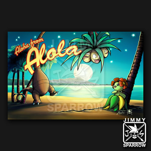 Aloha from Alola Bellossom - 11