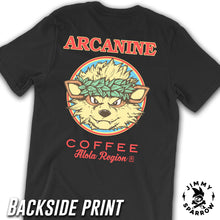 Load image into Gallery viewer, Arcanine Coffee Tee