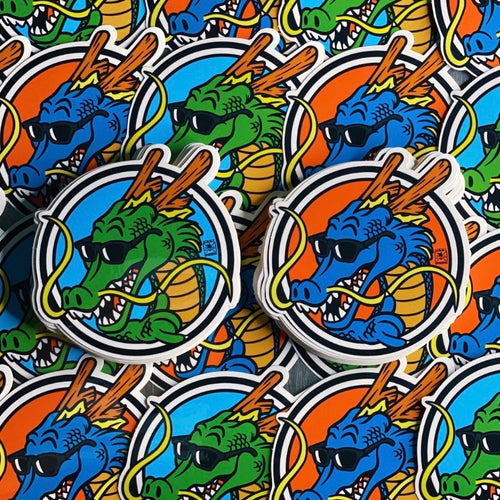 Shaka Shenron Sticker