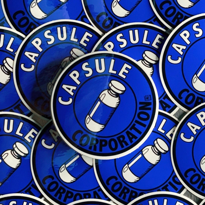 Capsule Corporation Sticker