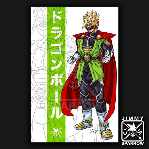 Great Saiyaman Redesign *LIMITED PRINT* - 11