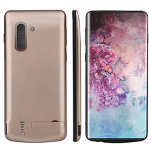 Load image into Gallery viewer, Custodia Batterie Galaxy Note 10 5000mAh Esterno Portatile Ricaricabile Custodia Protettiva Cover Oro
