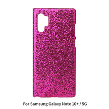 Load image into Gallery viewer, Custodia Galaxy Note 10 Plus 5G copertura protettiva PC custodia telefono con glitter Bling per ragazze e donne # 4