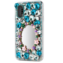Load image into Gallery viewer, Custodia Samsung Galaxy Note 10 plus resistente Strass di cristallo bling rivestimento con allo specchio #5