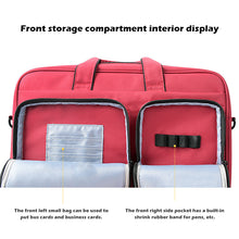 Load image into Gallery viewer, Custodia Sleeve MacBook Pro 16 Pollici 2019 Laptop Multiuso Messenger Sleeve Cover Blu Scuro