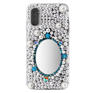 Custodia Bling per Galaxy Note 10 Diamante strass glitterato custodia protettiva antiurto #3