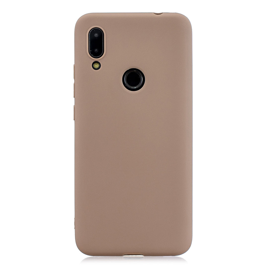 Cover per Redmi Note 7 / Note 7 Pro / Note 7S Custodia Protezione in TPU Marrone