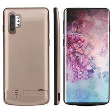 Load image into Gallery viewer, Galaxy Note 10 plus Custodia Batteria 5000mah Ricaricabile Caso Portatile Sottile Pack Oro