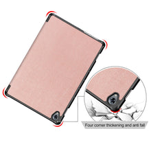 Load image into Gallery viewer, Custodia per Huawei MediaPad M6 10.7 2019 Stand Case Auto Sleep / Wake per donne Oro rosa