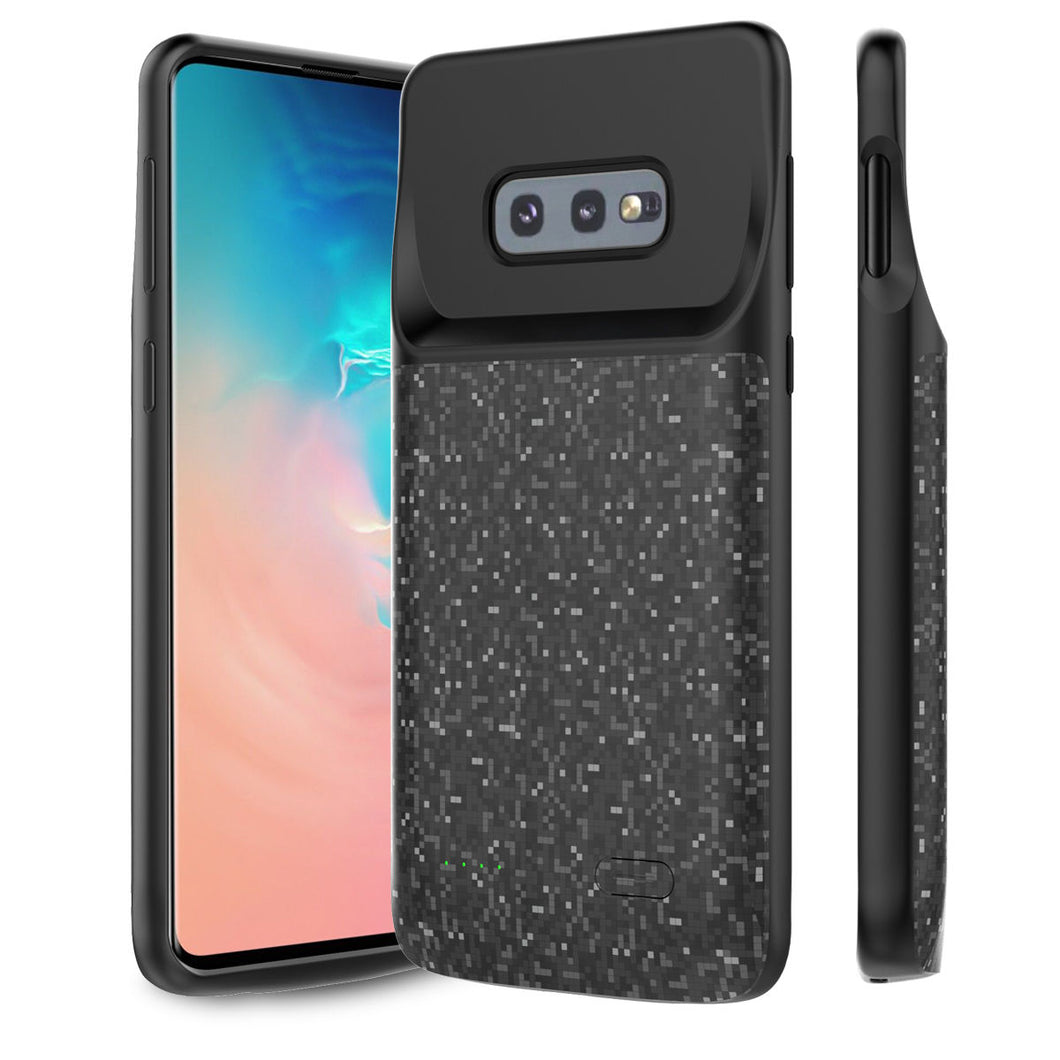 Custodia Batteria Galaxy S10e 4700 mah Ricaricabile Backup Caricabatterie Ultra Sottile Power Cover