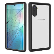 Load image into Gallery viewer, Transparent Cover Impermeabile Galaxy Note 10 IP68 Certificato con Protezione dello Schermo Cover Nero