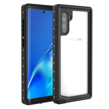 Load image into Gallery viewer, Custodia impermeabile per Galaxy Note 10 cover protettiva robusta per tutto il corpo IP68 nero