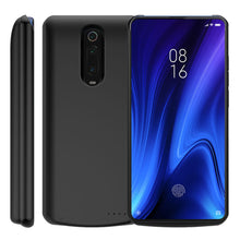 Load image into Gallery viewer, Redmi K20 Pro custodia batteria 6500mAh ultra sottile caricatore backup esterno nero
