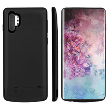 Load image into Gallery viewer, Cover Batteria Galaxy Note 10 plus 5000mah Batteria Backpack Protettiva Ricaricabile Case Nero