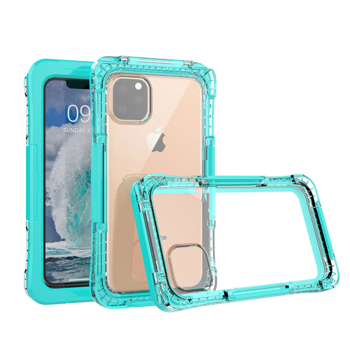 Custodia Impermeabile iPhone Pro Max IP68 Waterproof Cover Custodia Protettiva Verde