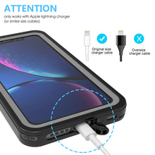 Load image into Gallery viewer, Custodia Subacquea iPhone 11 Cover 360 Gradi con Schermo Custodia Cinturino Galleggiante