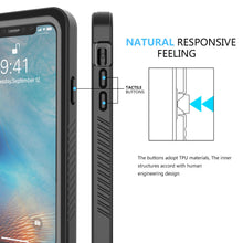 Load image into Gallery viewer, Custodia subacqueo iPhone 11 Pro protettiva completa impermeabile case nero