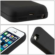Cover Batteria iPhone 5 5S SE 4000 mAh Ricaricabile Custodia Batteria Portatile Backup Caricabatterie Power Case