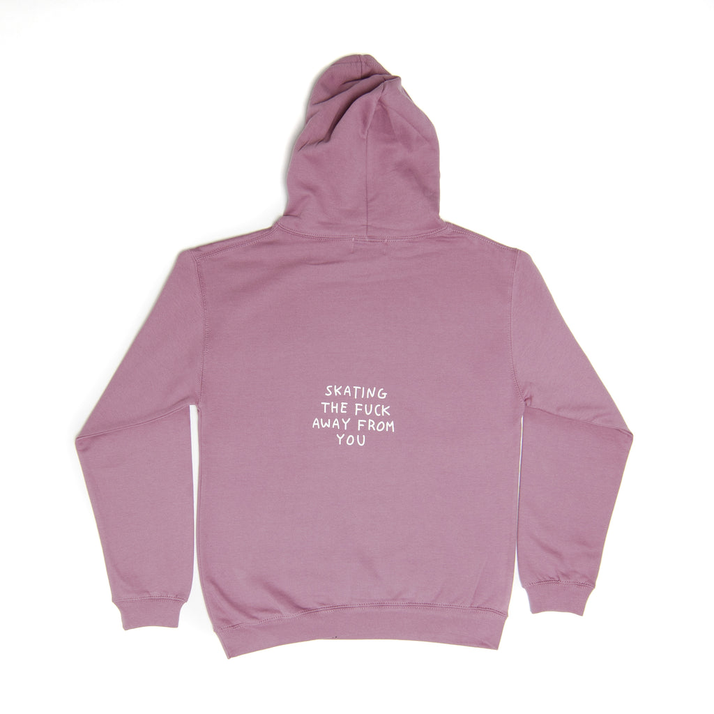 Skating The Fuck Away Anniversary Hoodie - Doyenne Skateboards