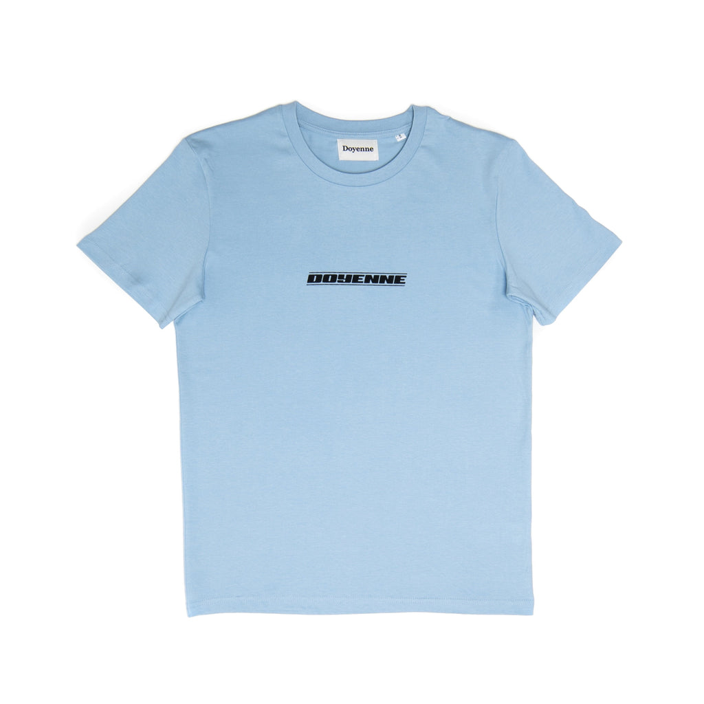 Sky Blue T-Shirt - Doyenne Skateboards