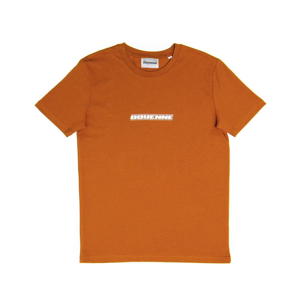 Bronze Orange T-Shirt - Doyenne Skateboards