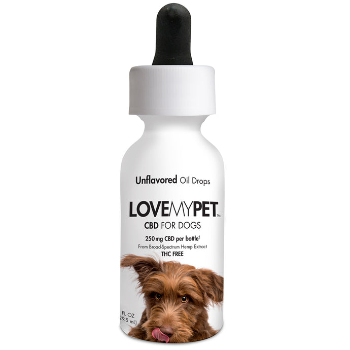CBD Dog Oil Drops Unflavored