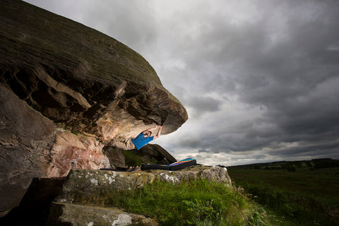 Photo/Copyright: Mark Savage. The Punisher 8A+ Shaftoe