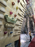 chelsea piers climbing wall setup