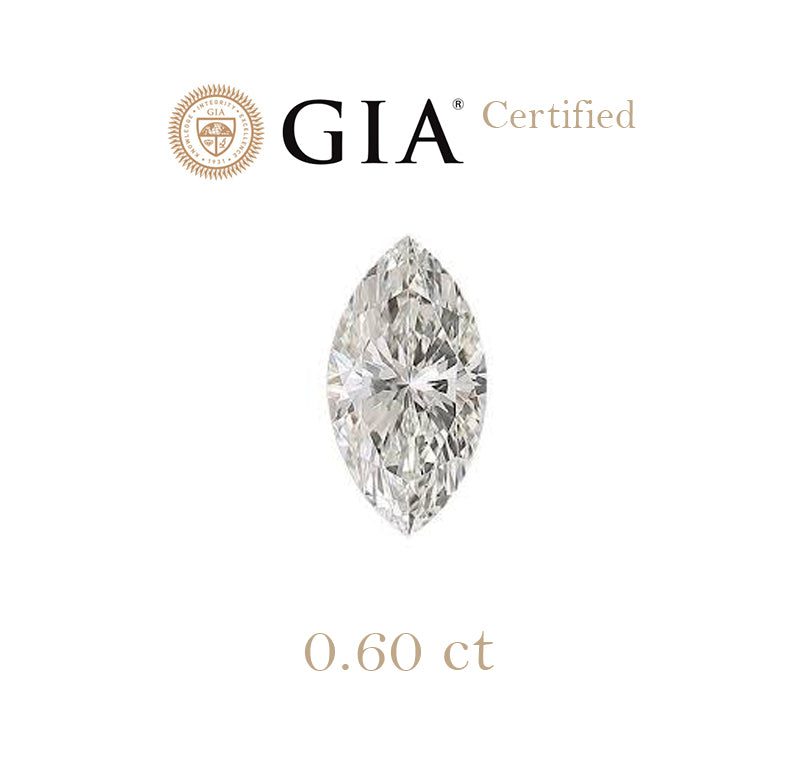 0.60ct Marquise Diamond