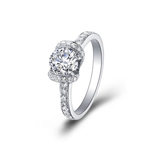 Ribboned Diamond Ring