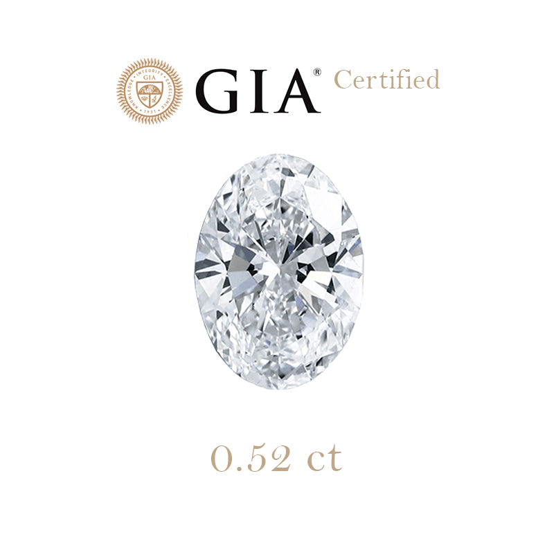 0.52ct Oval Diamond