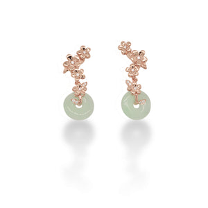 Springbloom Jade Earrings
