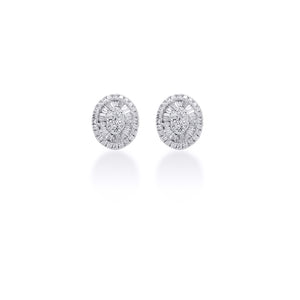 Trixie Oval Earrings