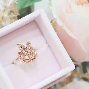 Enchanted Rose Ring