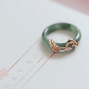 Autumn Jade Ring