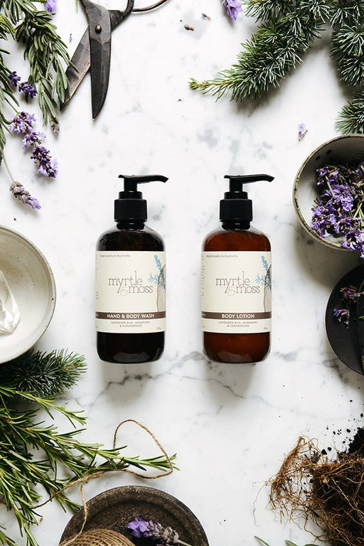 Myrtle and Moss-Lavender Body Lotion 250ml-mott-and-mulberry-shop-online-brisbane