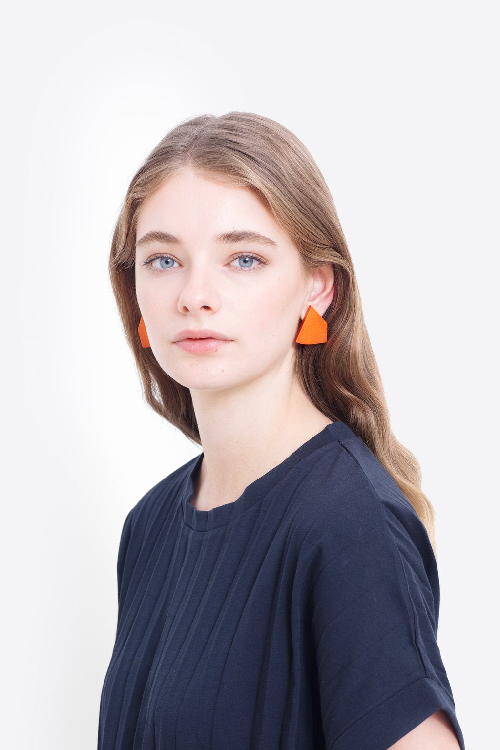 ELK-Johna Earring White-Mott and Mulberry