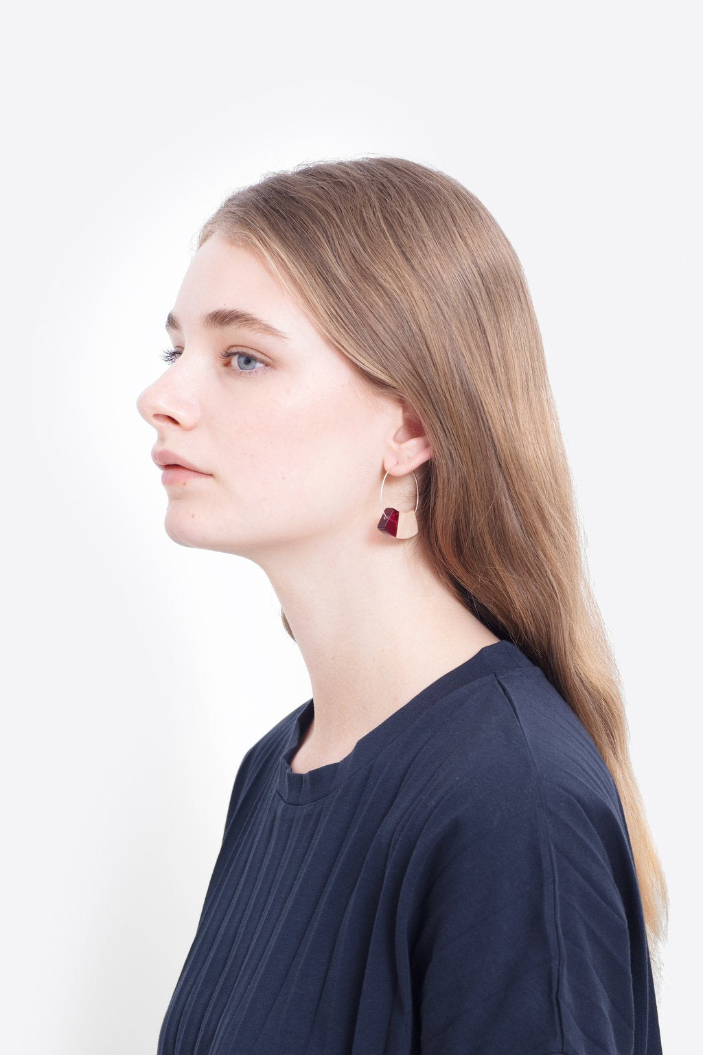 ELK-Yenni Earring Plum Natural-Mott and Mulberry