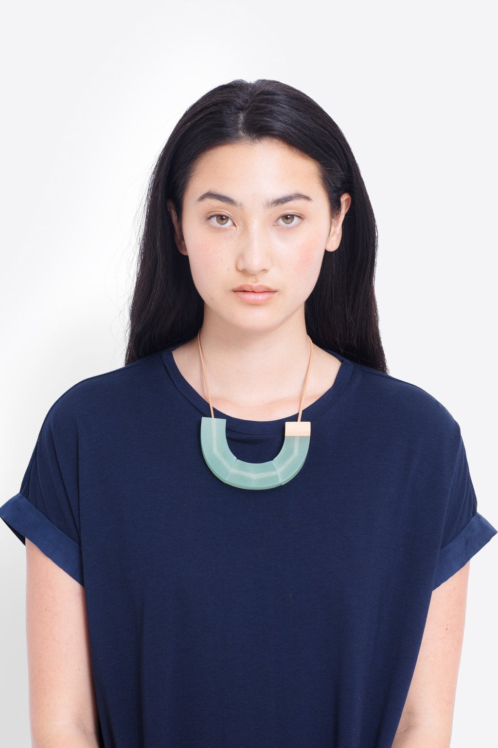 ELK-Yenni Necklace Green Natural-Mott and Mulberry