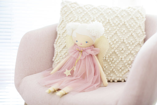 Alimrose-Annabelle Fairy Doll 48cm Blush-mott-and-mulberry-shop-online-brisbane