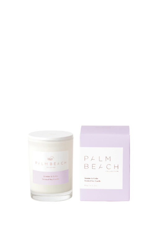 Palm Beach-Palm Beach Fragrance Jasmine and Cedar Mini Candle-Mott and Mulberry