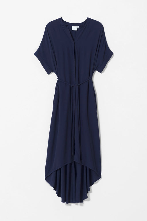 ELK-Lund Dress Navy-mott-and-mulberry-shop-online-brisbane