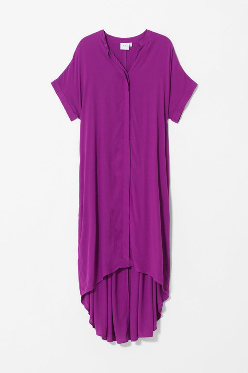 ELK-Lund Dress Magenta-mott-and-mulberry-shop-online-brisbane