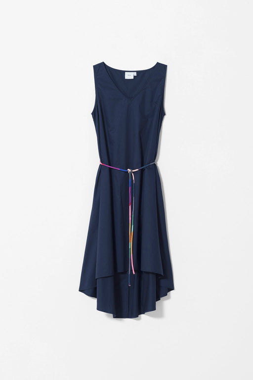 ELK-Nyland Dress Navy-mott-and-mulberry-shop-online-brisbane