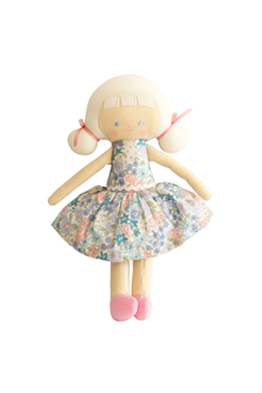 Alimrose-Audrey Doll 26cm Liberty Blue-Mott and Mulberry