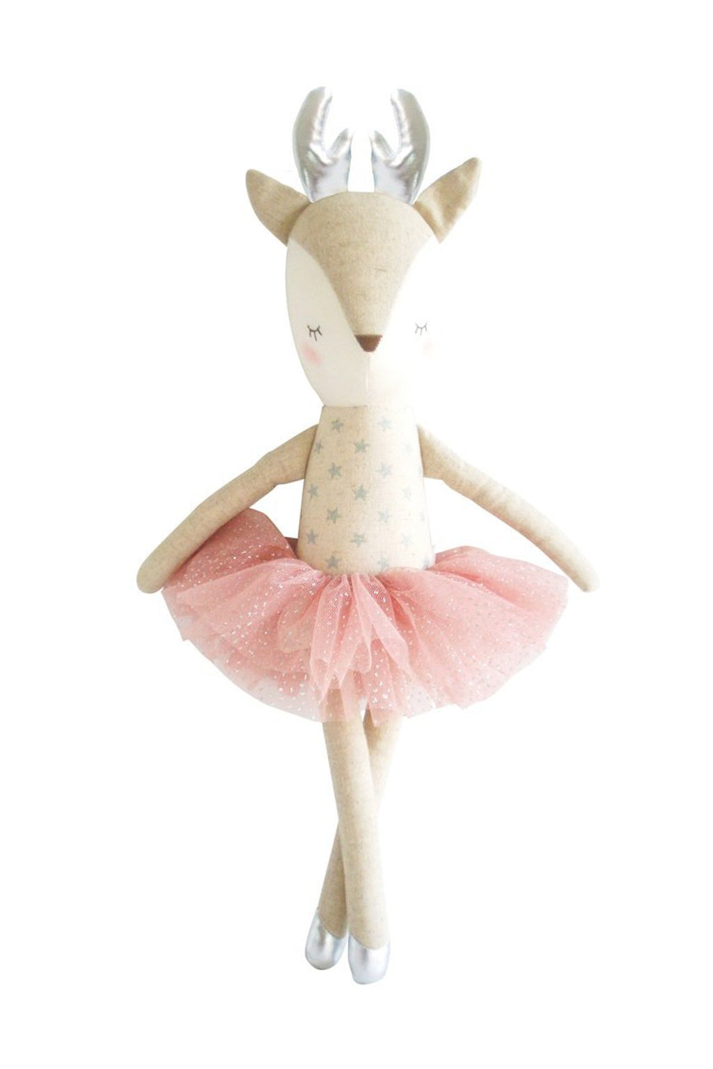 Alimrose-Ballerina Reindeer Blush 43cm-Mott and Mulberry